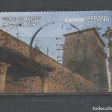 Sellos: SELLO USADO DE ESPAÑA -PUEBLOS CON ENCANTO, COVARRUBIAS (BURGOS)-, AÑO 2019. Lote 183486905