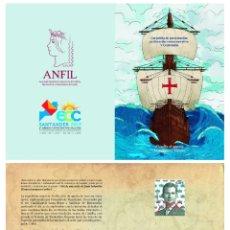 Sellos: ¡NOVEDAD! ESPAÑA SPAIN CARPETA PRESENTACIÓN ORIGINAL SANTANDER 2019 PERFORADO ECC ¡TIRADA LIMITADA!. Lote 183533013