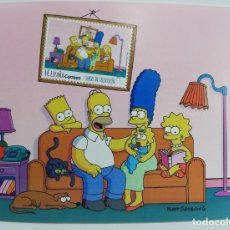 Sellos: LOS SIMPSONS SELLO HOJA BLOQUE. Lote 184360711