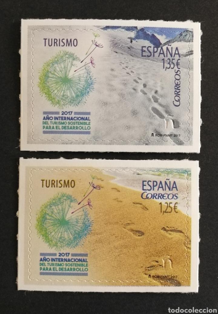 ESPAÑA 2017 MNH. 5114/15 AÑO INT. TURISMO SOSTENIBLE PARA EL DESARROLLO (Sellos - España - Felipe VI)