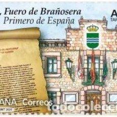 Sellos: ESPAÑA 2020 EFEMÉRIDES. 824, FUERO DE BRAÑOSERA. PRIMERO DE ESPAÑA MNH ED 5378 YT 5113. Lote 191423336