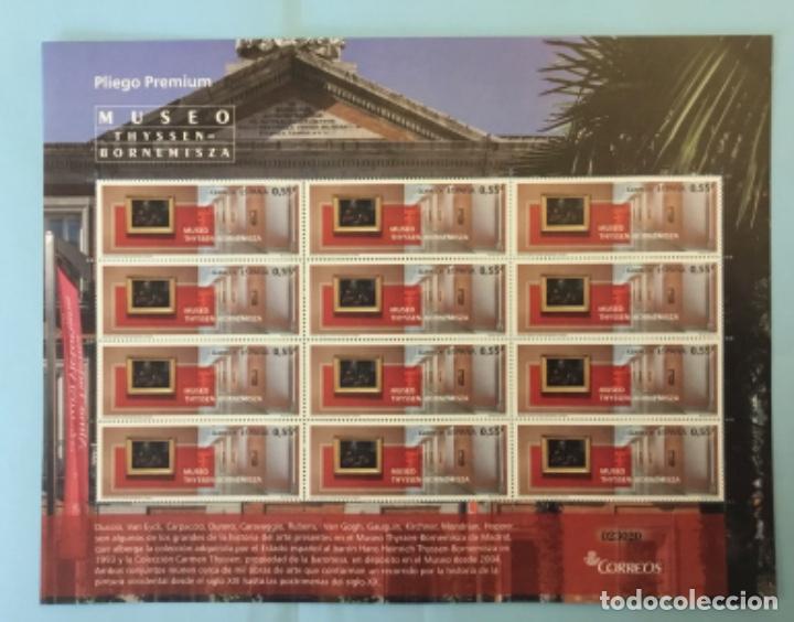 2015-ESPAÑA EDIFIL 4954 MNH** MUSEO THYSSEN-BORNEMISZA - PLIEGO PREMIUM Nº 17 - (Sellos - España - Felipe VI)