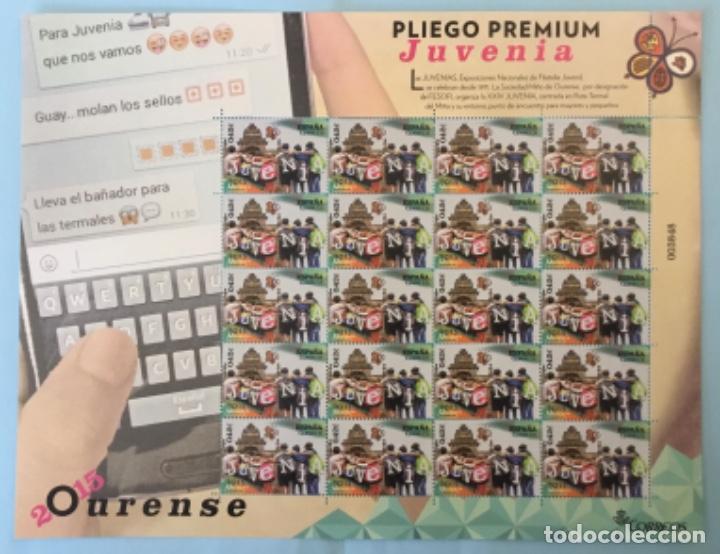 2015-ESPAÑA EDIFIL 4961 MNH** JUVENIA 2015 - PLIEGO PREMIUM Nº 19 - (Sellos - España - Felipe VI)