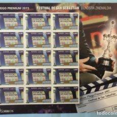 Selos: 2015-ESPAÑA EDIFIL 4990 MNH** CINE ESPAÑOL FESTIVAL DE SAN SEBASTIAN- PLIEGO PREMIUM Nº 23 -. Lote 192627850