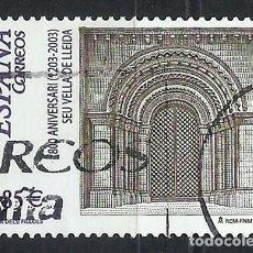 Sellos: SELLOS USADO ESPAÑA EN EUROS. 800 ANIVERSARIO SEU VELLA DE LLEIDA (LOTE V9). Lote 194565352
