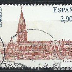Sellos: SELLOS USADO ESPAÑA EN EUROS. CATEDRAL DE TOLEDO (LOTE V11). Lote 194565610