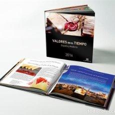 Sellos: *** ESPAÑA 2016 LIBRO VALORES EN EL TIEMPO. SIN SELLOS Y CON FILOESTUCHES NUEVO. PVP 40€ ***. Lote 194931320