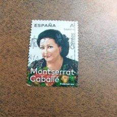 Sellos: SELLO MONTSERRAT CABALLE ESPAÑA. Lote 195326090