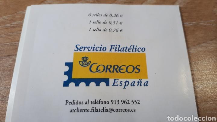 Sellos: SERIE COMPLETA AÑO 2003 EDIF. 3969/3976 carne de sellos autoadhesivos Pintor Chico Montilla C521 - Foto 3 - 198518432