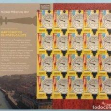Sellos: 2017-ESPAÑA EDIFIL 5171 MNH** ARQUEOLOGÍA INDUSTRIAL MAREÓMETRO DE PORTUGALETE PLIEGO PREMIUM Nº 55. Lote 202333792