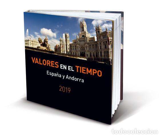 2019-AÑO COMPLETO DE ESPAÑA Y ANDORRA EN LIBRO-ÁLBUM DEL SERVICIO FILATÉLICO DE CORREOS SIN SELLOS- (Sellos - España - Felipe VI)