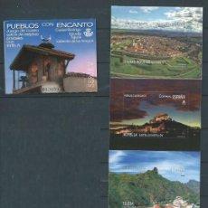 Francobolli: ESPAÑA 2020 CARNET PUEBLOS CON ENCANTO MNH ED C5385-88 YT C5121-24 MI C5418-21. Lote 216397236