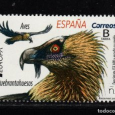 Sellos: ESPAÑA 5314** - AÑO 2019 - EUROPA - AVES - QUEBRANTAHUESOS. Lote 206808886
