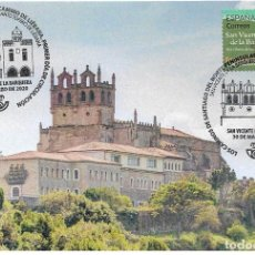 Sellos: SPAIN 2020 - THE ROUTES OF ST. JAMES, WAY IN NORTHERN SPAIN MAXIMUM CARD. Lote 207234410