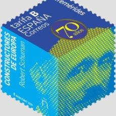 Sellos: ESPAÑA 2020 CONSTRUCTORES DE EUROPA. ROBERT SCHUMAN MNH ED 5408 YT 5149. Lote 262313330