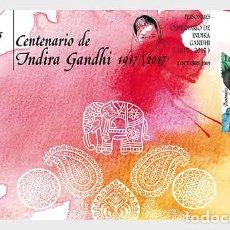 Francobolli: SPAIN 2019 - CHARACTERS, INDIRA GANDHI MNH. Lote 209161735