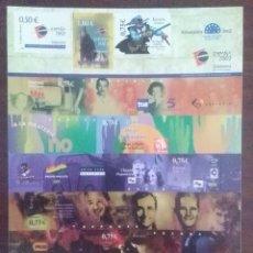 Sellos: SELLOS ESPAÑA AÑO 2002 EXPO MUNDIAL FILATELIA NUEVOS. Lote 209349841