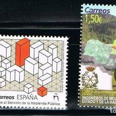 Sellos: ESPAÑA 2019 (5302-5303) CUERPOS DE LA ADMINISTRACION GENERAL DEL ESTADO (NUEVO). Lote 209782180