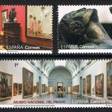 Sellos: ESPAÑA 2019 (5304-5306) MUSEOS, BILBAO, SOROLLA Y EL PRADO (NUEVO). Lote 209783380