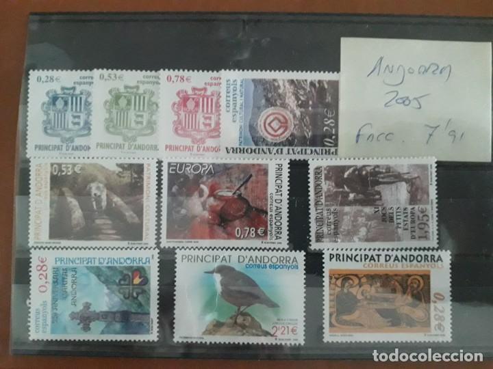 SELLOS ANDORRA AÑO 2005 COMPLETO MNH NUEVOS (Sellos - España - Felipe VI)