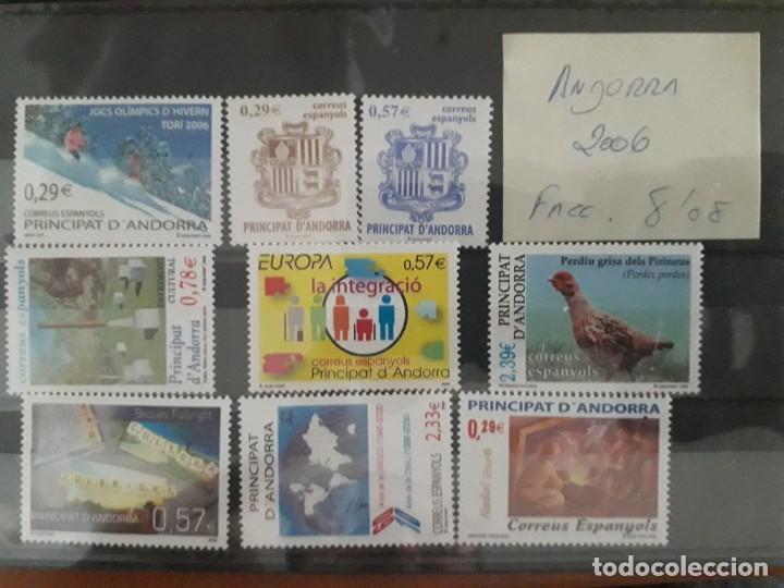 SELLOS ANDORRA AÑO 2006 COMPLETO MNH NUEVOS (Sellos - España - Felipe VI)