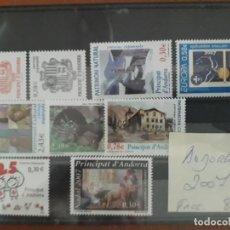 Sellos: SELLOS ANDORRA AÑO 2007 COMPLETO MNH NUEVOS. Lote 210100168