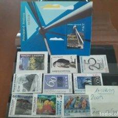 Sellos: SELLOS ANDORRA AÑO 2009 COMPLETO MNH NUEVOS. Lote 210100240