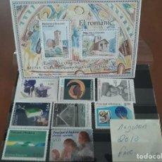 Sellos: SELLOS ANDORRA AÑO 2010 COMPLETO MNH NUEVOS. Lote 210100300