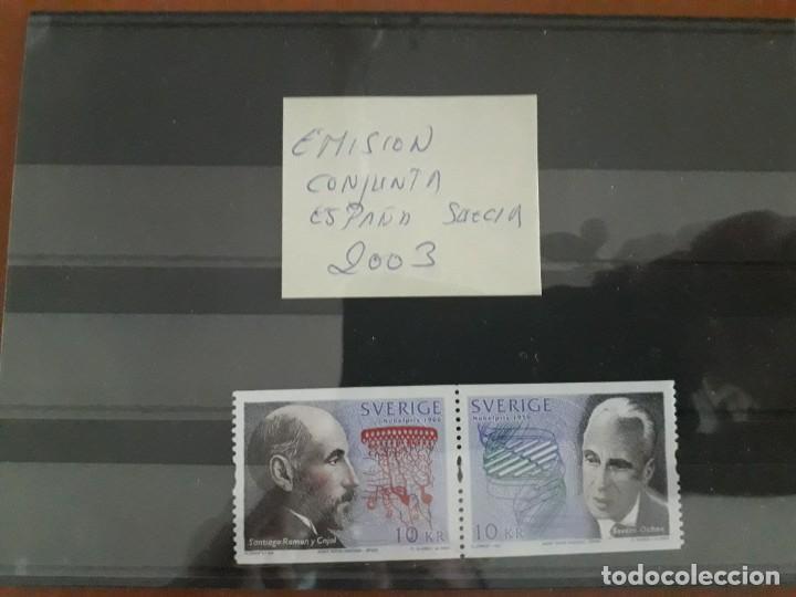 SELLOS ESPAÑA AÑO 2003 MNH EMISION CONJUNTA CON SUECIA (Sellos - España - Felipe VI)