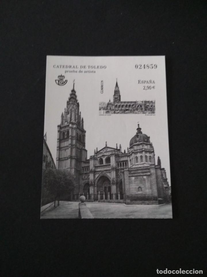 SELLOS ESPAÑA PRUEBA DE LUJO Nº 108 TOLEDO VALOR DE CATALOGO 14€ (Sellos - España - Felipe VI)