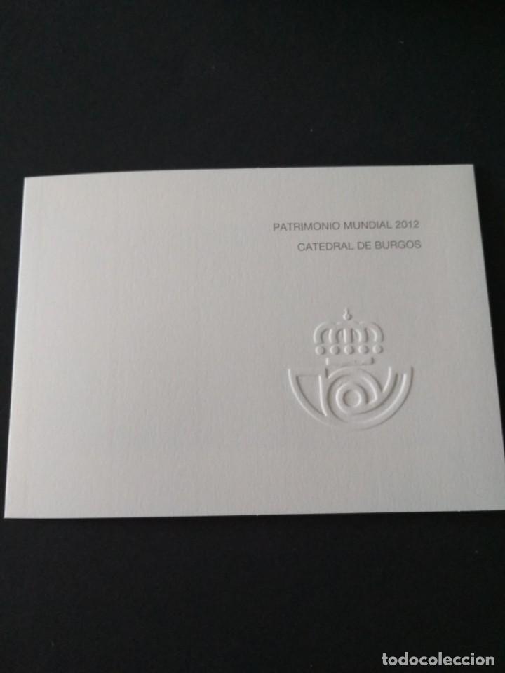 Sellos: Sellos españa prueba de lujo Nº 107 Burgos Valor de catalogo 14€ - Foto 2 - 210198910