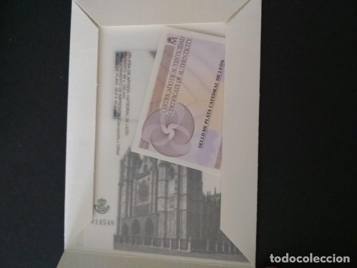 Sellos: Sellos españa prueba de lujo Nº 110 Leon Valor de catalogo 20€ - Foto 2 - 210199185