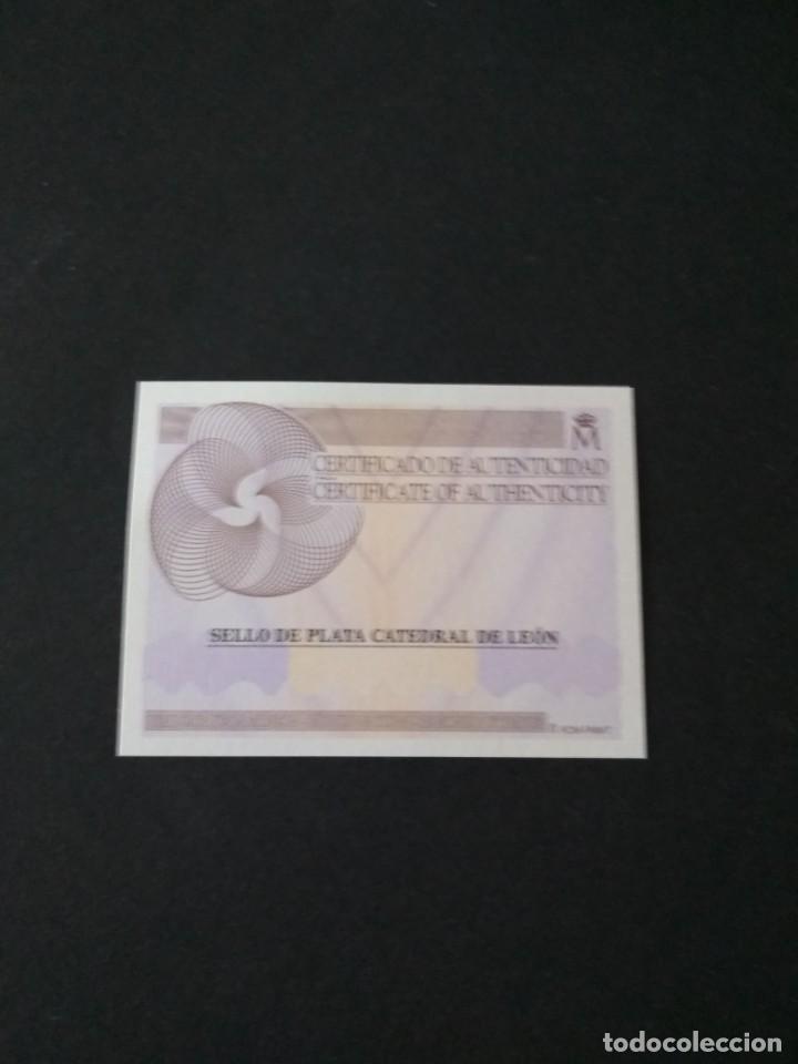 Sellos: Sellos españa prueba de lujo Nº 110 Leon Valor de catalogo 20€ - Foto 3 - 210199185