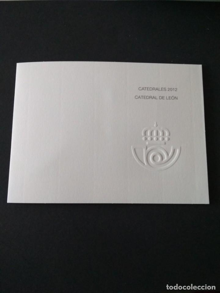 Sellos: Sellos españa prueba de lujo Nº 110 Leon Valor de catalogo 20€ - Foto 4 - 210199185