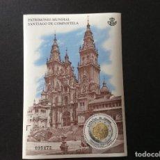 Selos: ESPAÑA AÑO 2018. PATRIMONIO DE LA HUMANIDAD. SANTIAGO DE COMPOSTELA. Lote 210425358