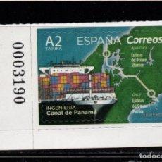 Sellos: ESPAÑA 5284** - AÑO 2019 - INGENIERIA - EL CANAL DE PANAMA. Lote 210592456