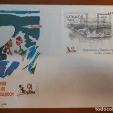 Sellos: SELLOS ESPAÑA AÑO 1991 SPD GRAN FORMATO NUEVOS. Lote 212011661