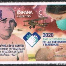 Selos: [CF7850] ESPAÑA 2020, SERIE AÑO INT. DE LA ENFERMERÍA Y MATRONAS (MNH). Lote 240519455