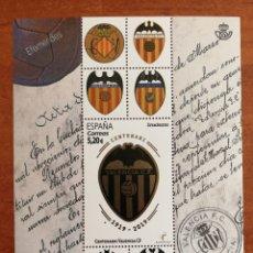 Sellos: ESPAÑA N°5299 HB CENTENARIO VALENCIA CF. MNH (FOTOGRAFÍA ESTÁNDAR). Lote 263107915