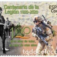 Sellos: ESPAÑA 2020 CENTENARIO CUERPO DEL EJÉRCITO: LA LEGIÓN 1920-2020 MNH ED 5439 YT 5182. Lote 221508671