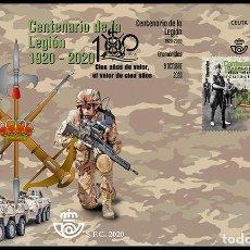 Sellos: ESPAÑA 2020 CENTENARIO CUERPO DEL EJÉRCITO: LA LEGIÓN 1920-2020 FDC ED 5439 YT 5182. Lote 221512945