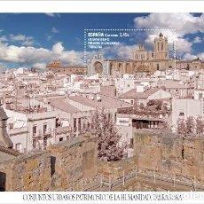 Sellos: [CF1469] ESPAÑA 2020; HB UNESCO. PATRIMONIO MUNDIAL ESPAÑOL (MNH). Lote 221715190