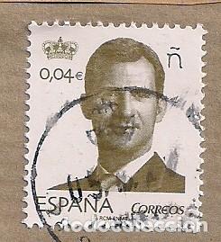 FELIPE VI. 0,04 CTS USADO (Sellos - España - Felipe VI)