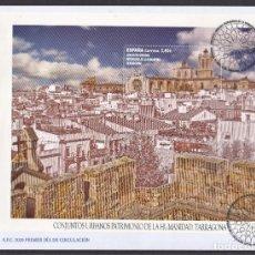 Selos: 3.- ESPAÑA 2020 SOBRE PRIMER DIA TARRAGONA PATRIMONIO MUNDIAL DE LA HUMANIDAD. Lote 224451285