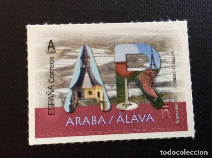 ESPAÑA AÑO 2020. ALAVA (Sellos - España - Felipe VI)