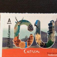 Selos: ESPAÑA Nº YVERT 4924*** AÑO 2018. CUENCA. Lote 264276244