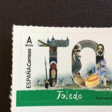 Sellos: ESPAÑA Nº YVERT 4924*** AÑO 2018. TOLEDO. Lote 277662728