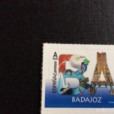 Selos: ESPAÑA Nº YVERT 5026*** AÑO 2019. PROVINCIAS. BADAJOZ. Lote 227641035
