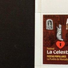 Sellos: ESPAÑA Nº YVERT 4962*** AÑO 2018. FESTIVAL DE LA CELESTINA,EN LA PUEBLA DE MONTALBAN. Lote 228329585