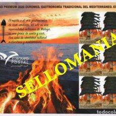 Sellos: 2020 GASTRONOMIA TRADICIONAL MEDITERRANEO ESPETO PLIEGO PREMIUM ** MNH TC23856. Lote 228329930